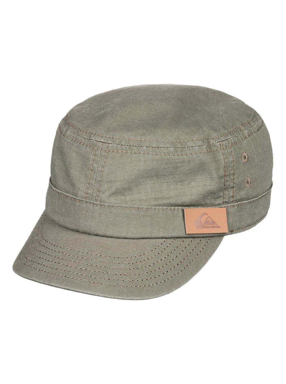 741a9a2e221 0 Renegade - Military Cap for Men Brown AQYHA03575 Quiksilver