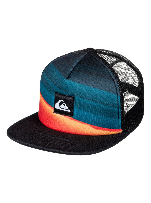 04ffc7016bcde Quiksilver™ SLASH TURNER - Trucker Hat - Men - ONE SIZE - Blue