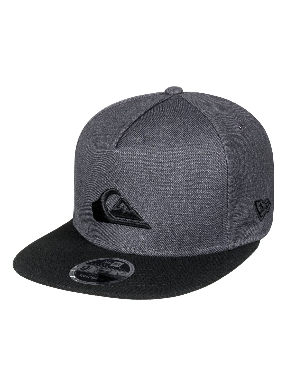 6673693c 0 Stuckles Snap Snapback Hat Black AQYHA03989 Quiksilver