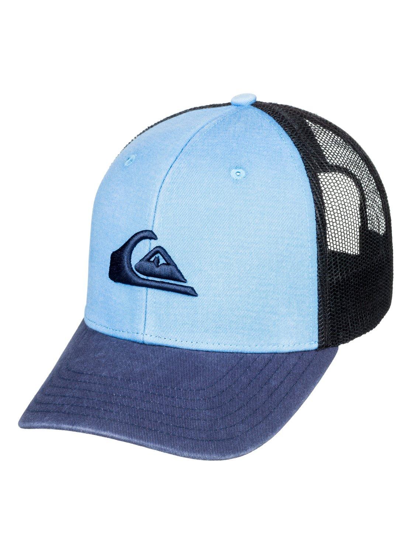 OFA Camo Quiksilver Mens Grounder Trucker Hat AQYHA03997