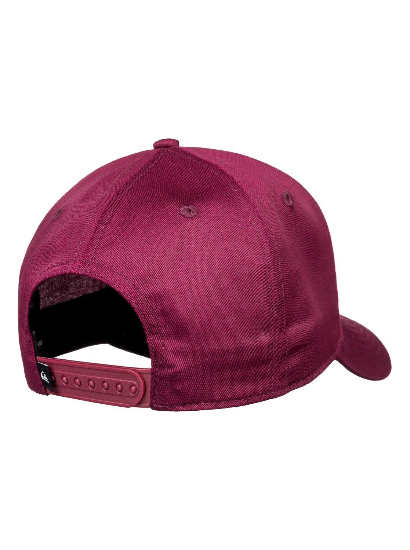 9fce368a 2 Decades - Snapback Cap for Men Red AQYHA04002 Quiksilver