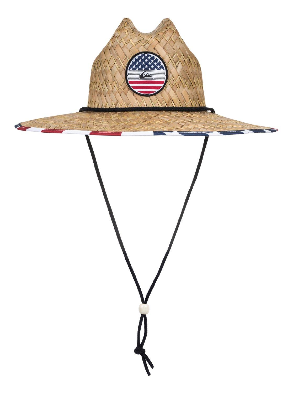 e402dfadf9a 0 Outsider America Straw Lifeguard Hat AQYHA04077 Quiksilver