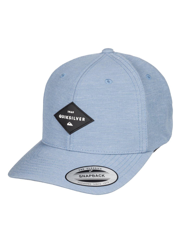 innovative design b00e3 fd778 0 Union Heather Snapback Hat AQYHA04126 Quiksilver