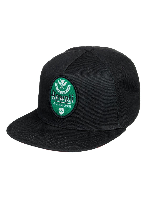 huge selection of e77c0 243d9 0 HI Beerski Snapback Hat Black AQYHA04188 Quiksilver