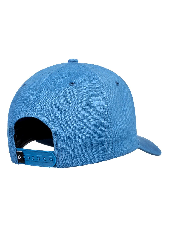 743bc62ac9494 2 Pork Belly Dad Hat Blue AQYHA04210 Quiksilver