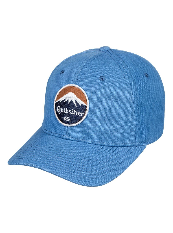 ea569ccfc65ae 0 Pork Belly Dad Hat Blue AQYHA04210 Quiksilver