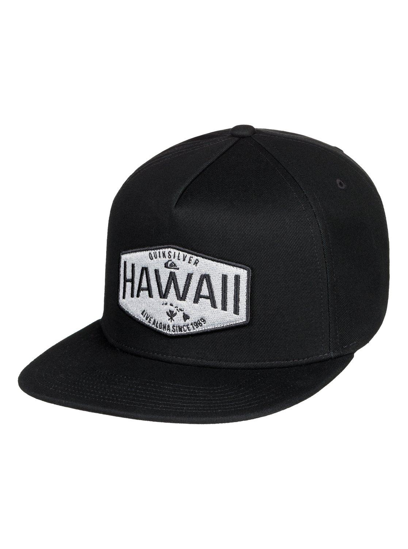 sports shoes e44ff c750b 0 HI Waller Patch Snapback Hat Black AQYHA04235 Quiksilver