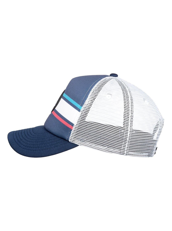 New Quiksilver Seasons Debate Mens Snapback Trucker Cap Hat