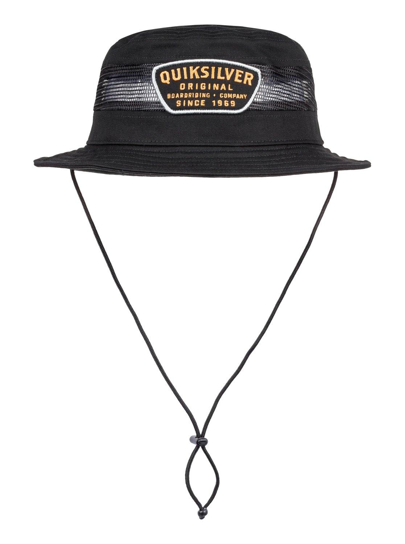 8ea0ab09f50 Details about Quiksilver™ Molinas - Technical Bucket Hat - Men - L - Black