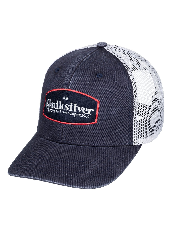 edf1bac0 Quiksilver™ Jorgans - Trucker Cap - Men - ONE SIZE - Blue