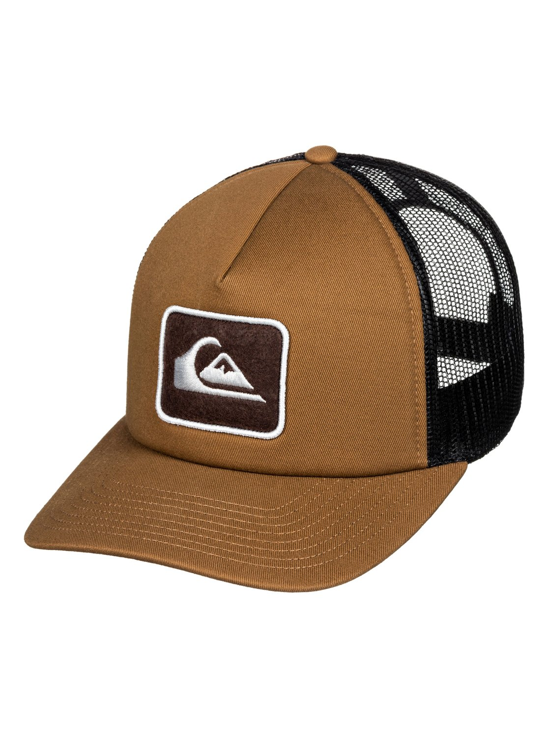 8de71e1e 0 Canvas Breeze Trucker Hat Brown AQYHA04440 Quiksilver