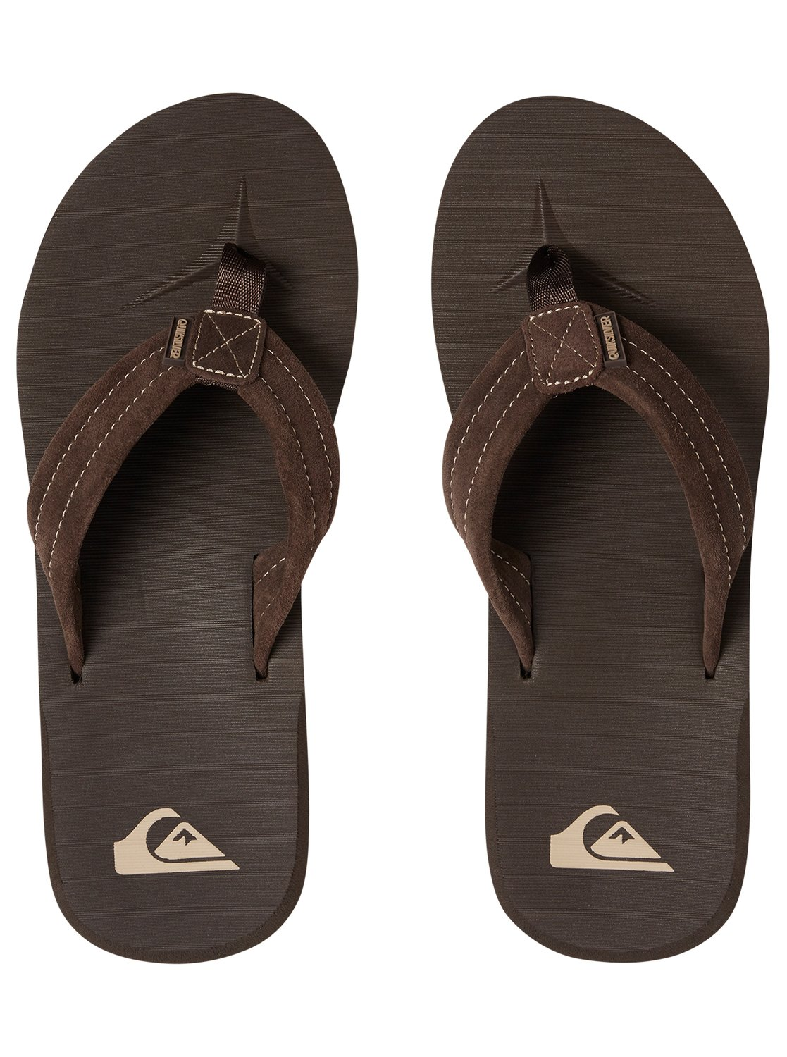ad1ca89936d 2 Carver Leather Sandals Brown AQYL100030 Quiksilver