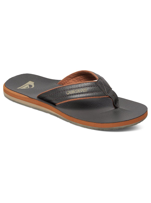 46e627cdedd3 0 Carver Nubuck Sandals Brown AQYL100040 Quiksilver