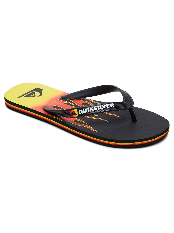 3886c2843bee 0 Molokai Fire - Flip-Flops for Men Black AQYL100807 Quiksilver