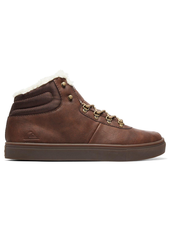 ba0d7e42dd7c64 1 Jax - Wasserabweisende High-Top-Schuhe für Männer Braun AQYS100022  Quiksilver
