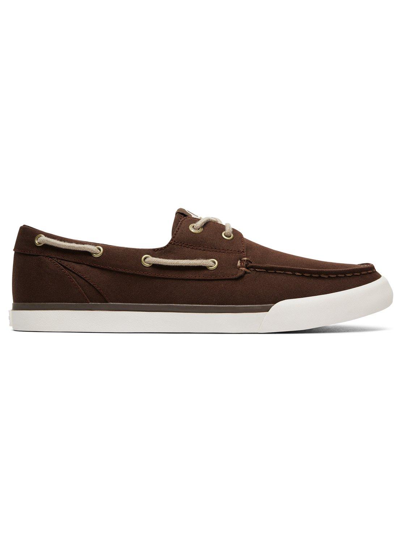 78a5d85f11d 1 Spar - Chaussures bateau pour Homme Marron AQYS300052 Quiksilver