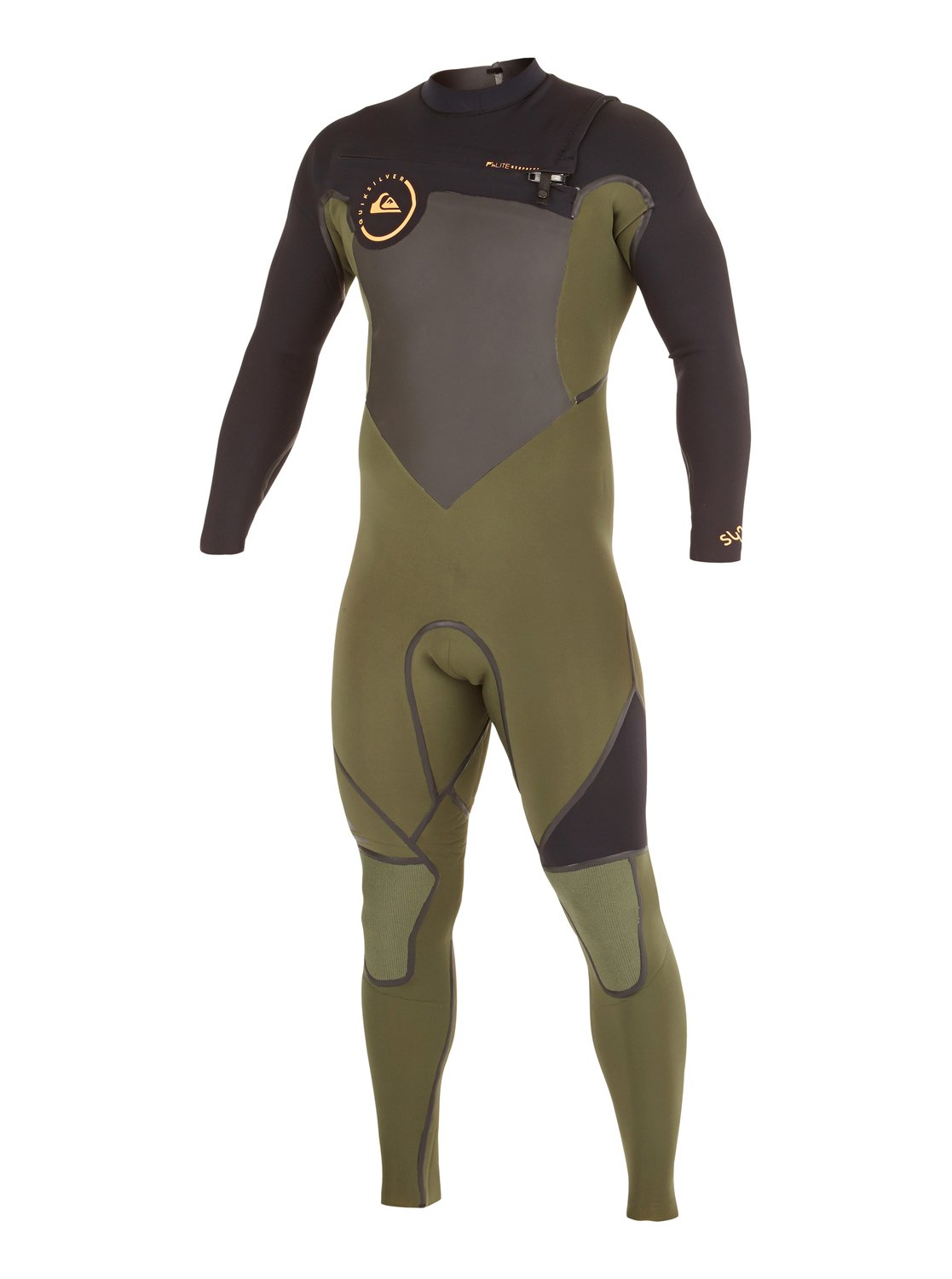 a5f7bc1457 0 Syncro LFS 3/2mm Chest Zip Wetsuit AQYW103035 Quiksilver