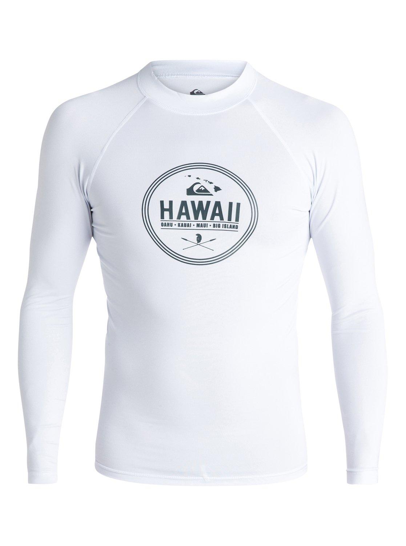 Island Style Long Sleeve Rashguard AQYWR03023   Quiksilver