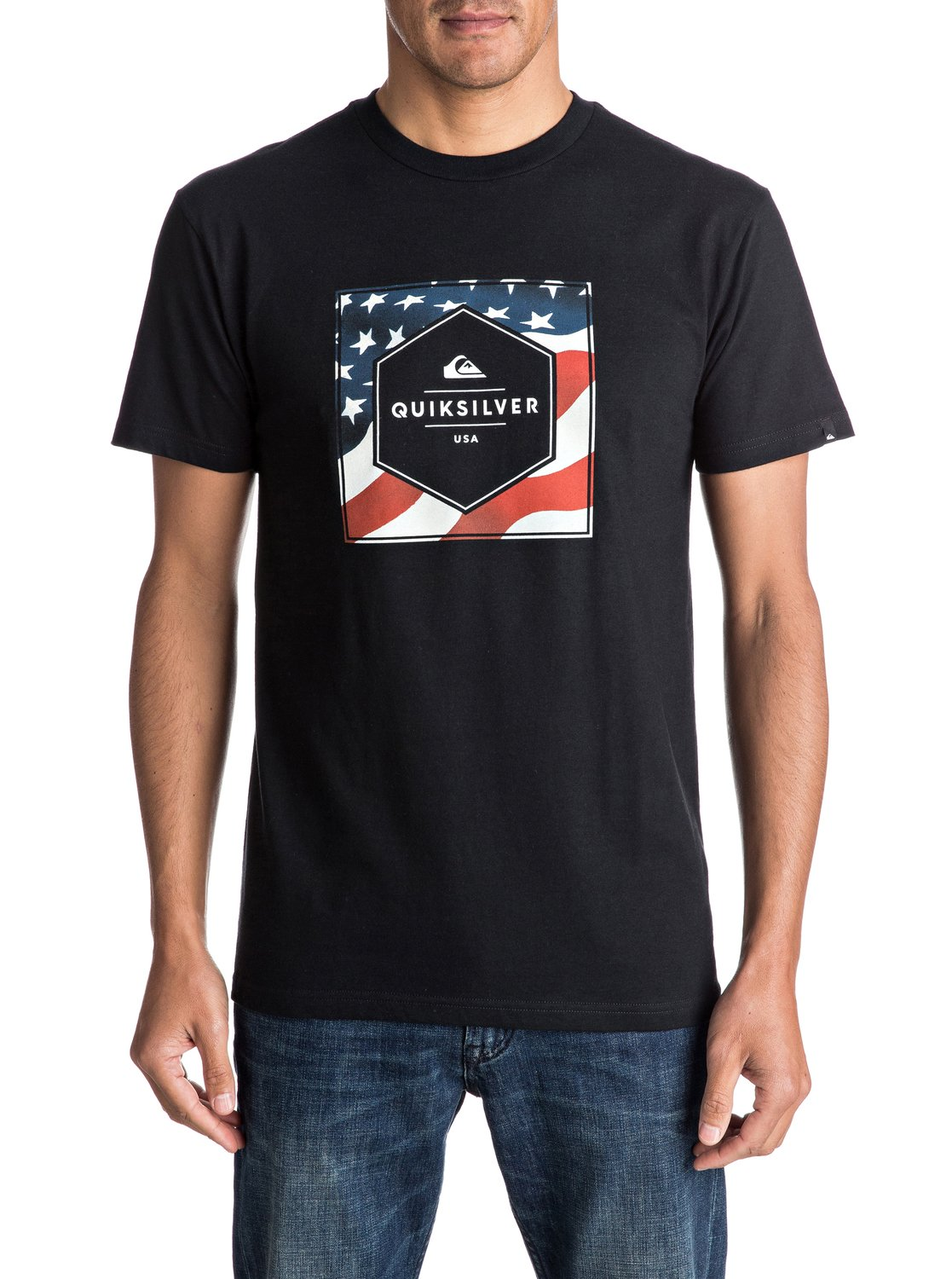 54a062d29c2e6 0 Stars And Stripes - T-Shirt AQYZT04598 Quiksilver