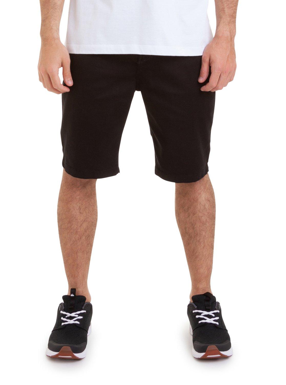 7909e40ffb 0 Bermuda Walk Skate Black Quiksilver Preto BR60021585 Quiksilver