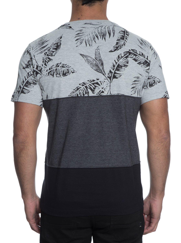 09b6c33230 3 Camiseta Masculina Manga Curta Slim Fit Estampada com Bolso Quiksilver.  Preto BR61142742 Quiksilver