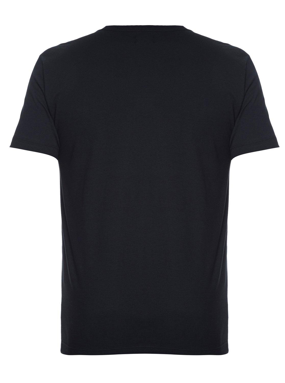 7eb7b85156 1 Camiseta Masculina Manga Curta Slim Fit Estampada com Bolso Quiksilver.  Preto BR61142753 Quiksilver