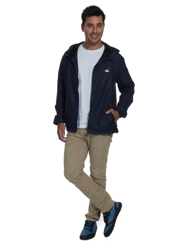 c545a4f29 0 Jaqueta c  Capuz Regular Fit Basic Jacket Quiksilver BR64451250 Quiksilver