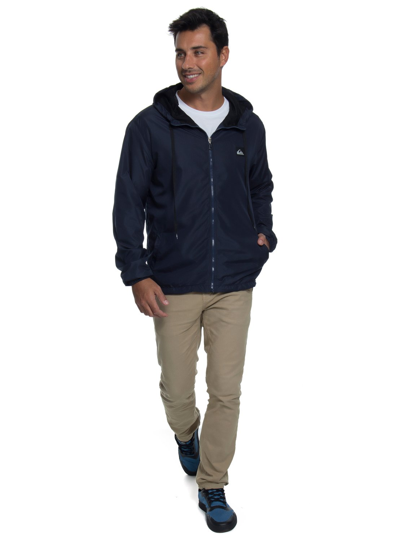 a5799e328 1 Jaqueta c  Capuz Regular Fit Basic Jacket Quiksilver BR64451250 Quiksilver