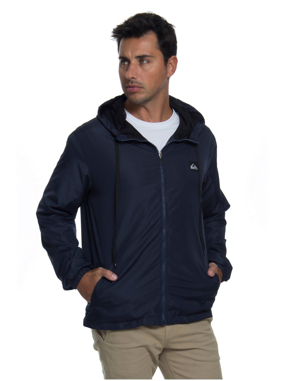 8d447332b 2 Jaqueta c  Capuz Regular Fit Basic Jacket Quiksilver BR64451250 Quiksilver
