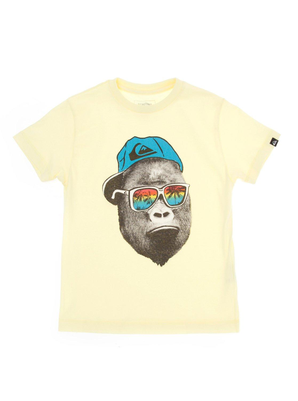 5ddefae0080 0 Camiseta básica infantil Monkey BR68111967 Quiksilver