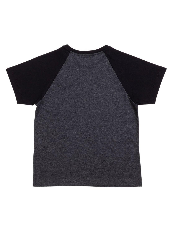 a029a2e1286 1 Camiseta Infantil Raglan Everyday Quiksilver Cinza BR68141330 Quiksilver