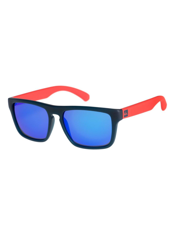 efe795f6a685 0 Small Fry - Sunglasses for Boys 8-16 Blue EKS4077 Quiksilver