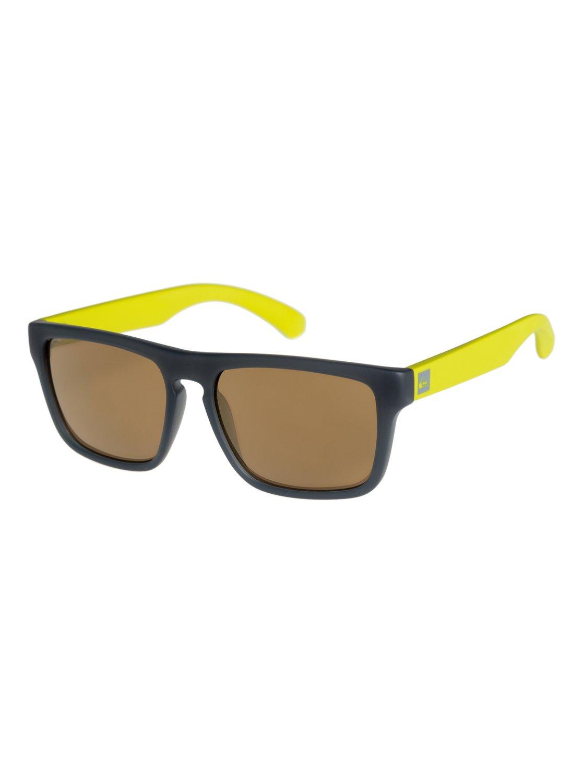 e8b03a9ffab5 0 Small Fry - Sunglasses for Boys 8-16 Grey EKS4077 Quiksilver