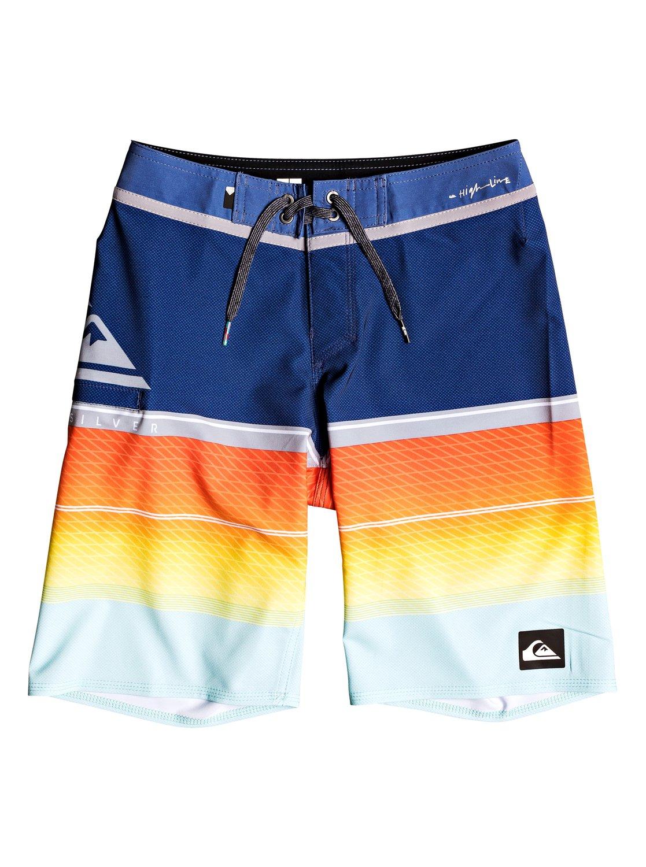Quiksilver Boys Big Highline Slab Youth 18 Boardshort Swim Trunk