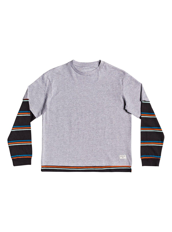 e507fb3f06d46 0 Moki Murraw - T-shirt manches longues double épaisseur pour Garçon 8-16