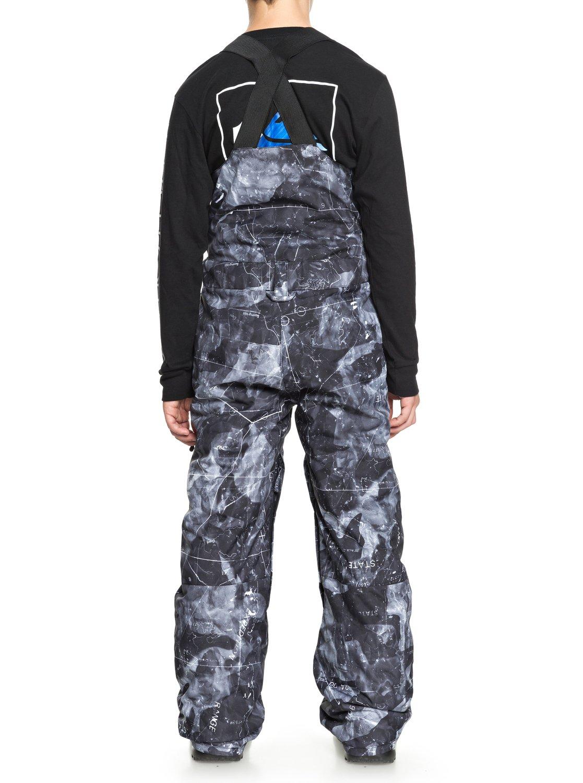 dcd9409d8d 3 Stratus - Pantalón de peto para nieve para Chicos 8-16 Negro EQBTP03019  Quiksilver