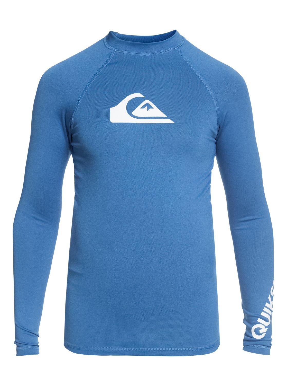 Quiksilver Boys Little Time Short Sleeve Boy Surf Tee Rashguard Rash Guard Shirt