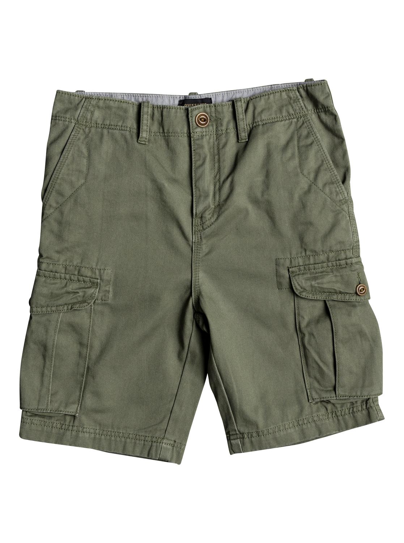 c1c8713990 0 Crucial Battle - Cargo Shorts for Boys 8-16 Green EQBWS03226 Quiksilver