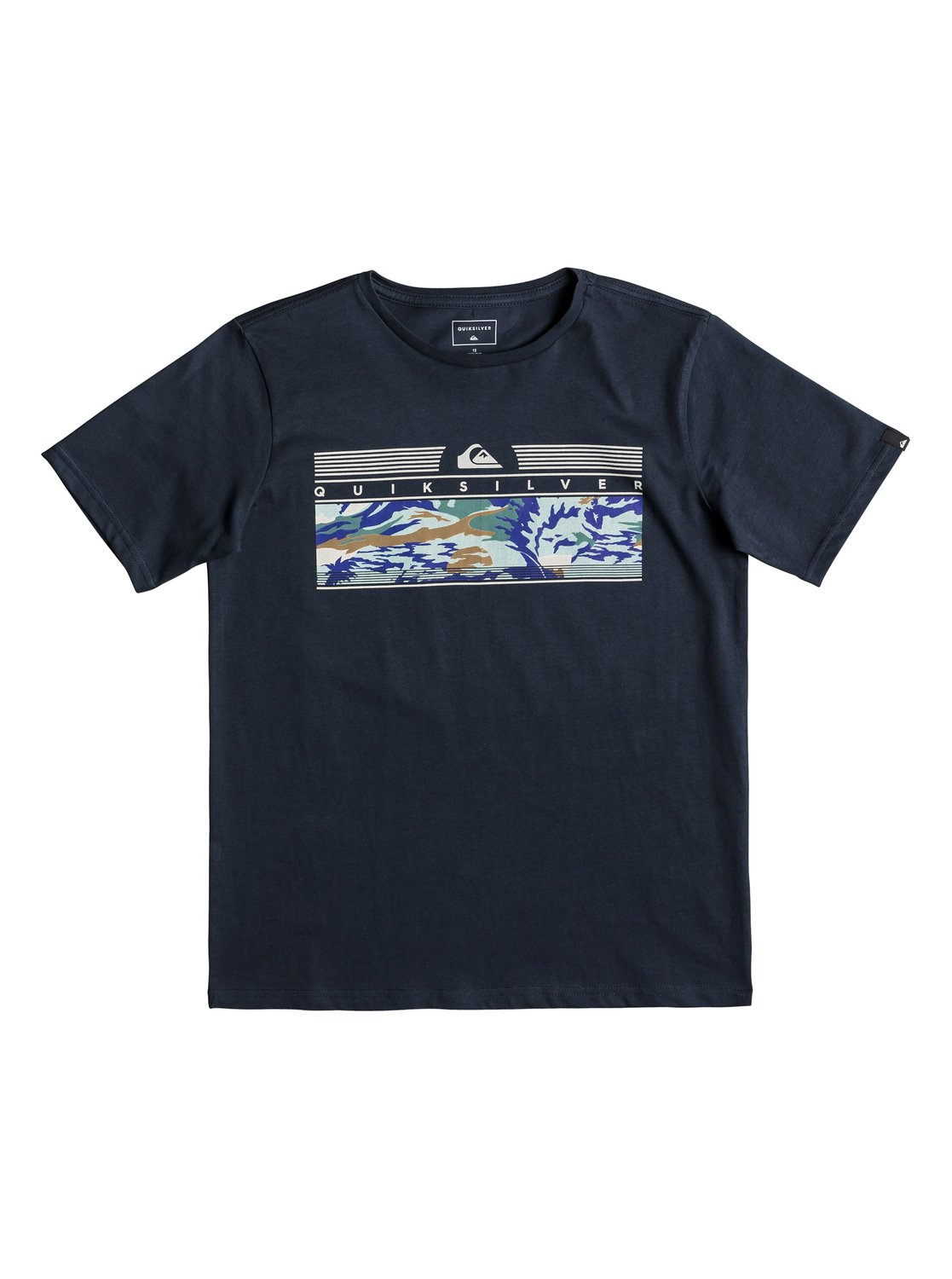 496ed9f6c0ff16 0 The Jungle - T-Shirt for Boys 8-16 Blue EQBZT03896 Quiksilver