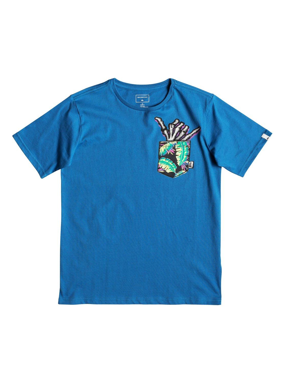 ee90e98c13399 0 Byron Boogie - T-shirt pour garçon 8-16 ans Bleu EQBZT03897 Quiksilver