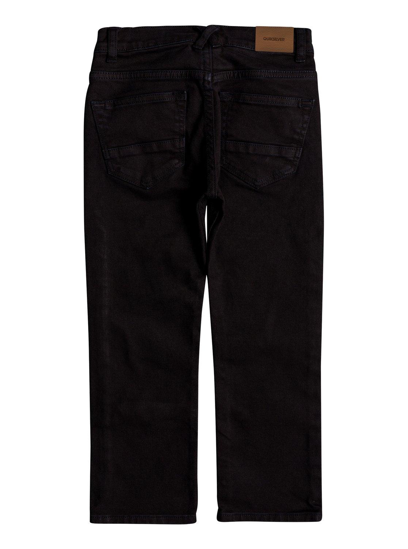 c3ea6fe44cb 1 Boy s 2-7 Distorsion Colors Slim Fit Jeans Black EQKDP03073 Quiksilver