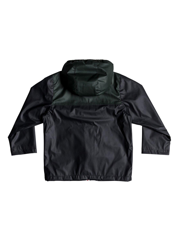 892646418b96e 1 Hikiomori - Veste à capuche imperméable pour Garçon 2-7 ans Noir  EQKJK03088 Quiksilver