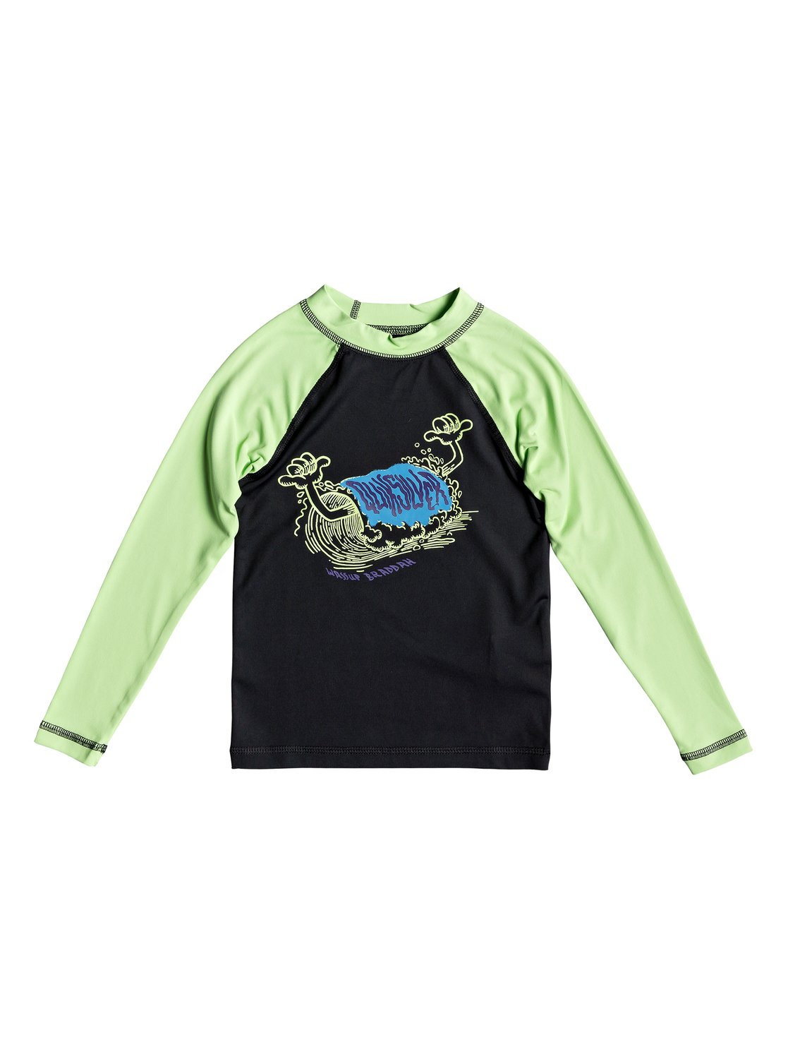 8754a073f6 Boy's 2-7 Bubble Dreams Long Sleeve UPF 50 Rashguard