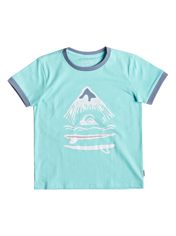 c6c6eaa9e3f57 0 Byron Boogie - T-shirt pour garçon 2-7 Bleu EQKZT03299 Quiksilver