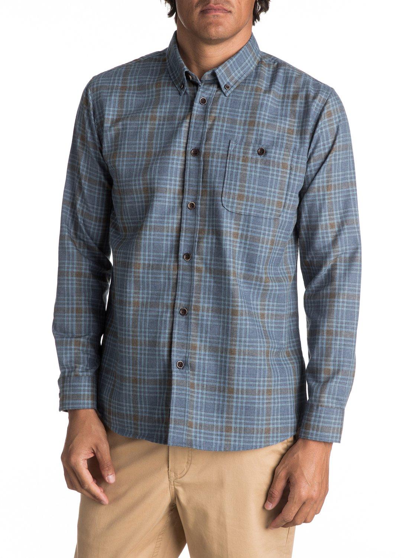 9807bff555 0 Waterman Cortez Straight - Camisa De Manga Larga para Hombre Azul  EQMWT03038 Quiksilver