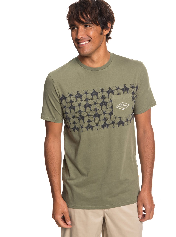 b149eb552bd0e9 0 Waterman Planet Of The Lost - Camiseta con Bolsillo para Hombre Beige  EQMZT03150 Quiksilver