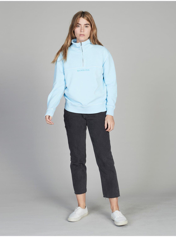 Quiksilver Womens Half-Zip Sweatshirt