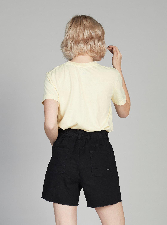 87f035ced26f Mujeres Quiksilver - Shorts de Mezclilla Elásticos con Cintura Alta
