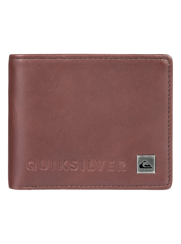 64e2f005f 0 Mack VI Bi-Fold Leather Wallet EQYAA03692 Quiksilver