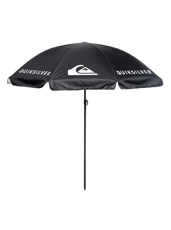 0 Sun Umbrella Upf 100 Beach Black Eqyaa03767 Quiksilver
